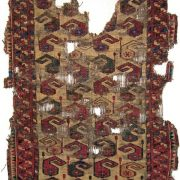 Central Asia, possibly Kyrgyz rug early 19th century.