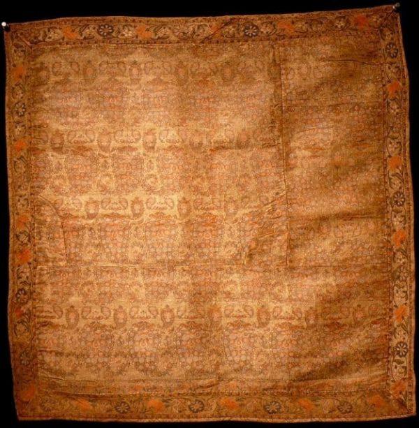 Safavid silk brocade 17th/18th century.