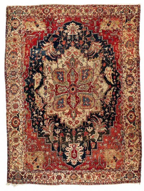 L210 600x793 - More Serapi carpets