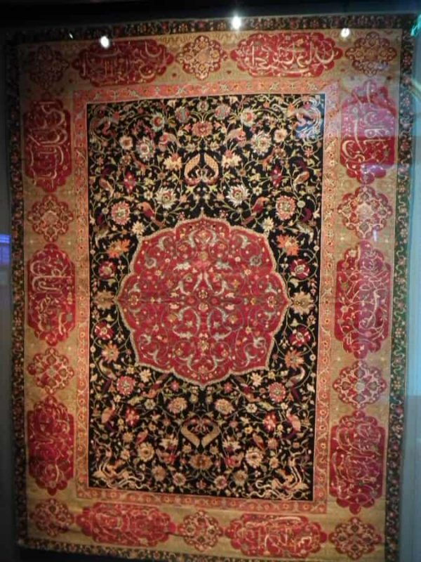 The David Collection, a 16th century Salting carpet