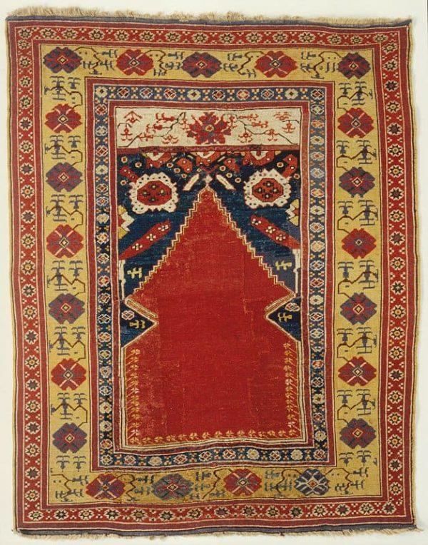 Karaman Aladag 128×150 cm. (Exhibitor Arhan Orientaliska Mattor at ICOC Stockholm)