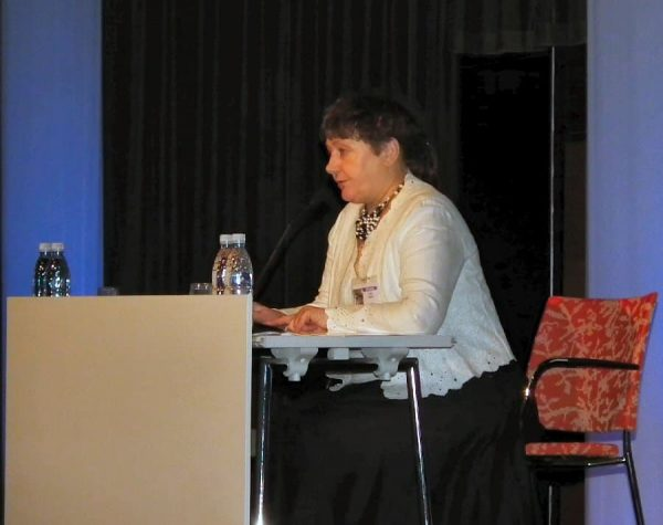 Elena Tsareva was moderator during the second Central Asia session.