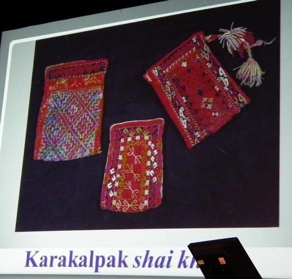 Karakalpak bags. Illustration from Irina Bogoslovskaya's lecture.