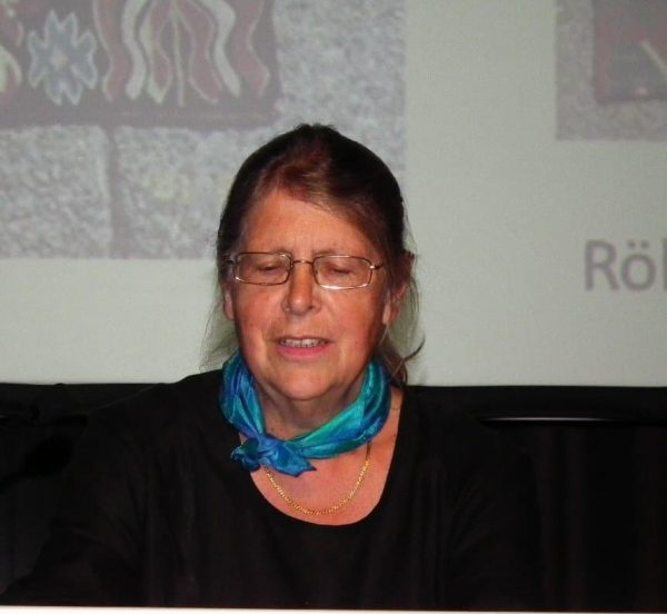 Margareta Nockert was speaker in the first session and moderator in the second session.