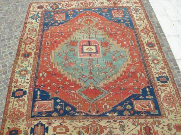 AT Serapi 600x450 - More Serapi carpets