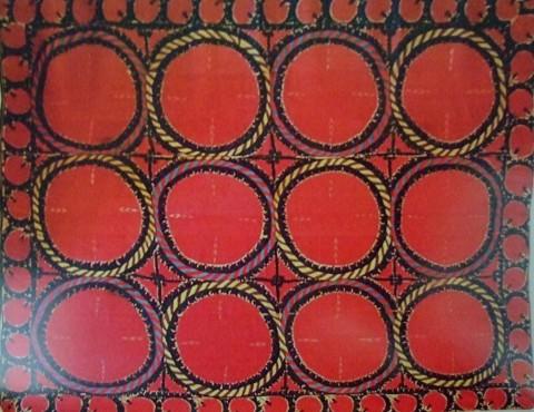 Tashkent suzani first half of 19 c. 480x370 - Suzanis – the world of magic and beauty