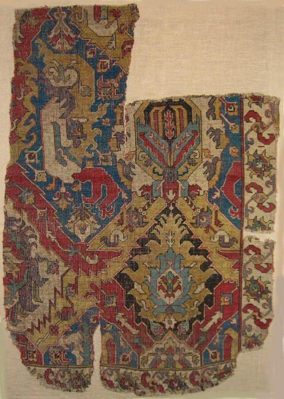 16-17th century Dragon fragment. Exhibitor John Collins.
