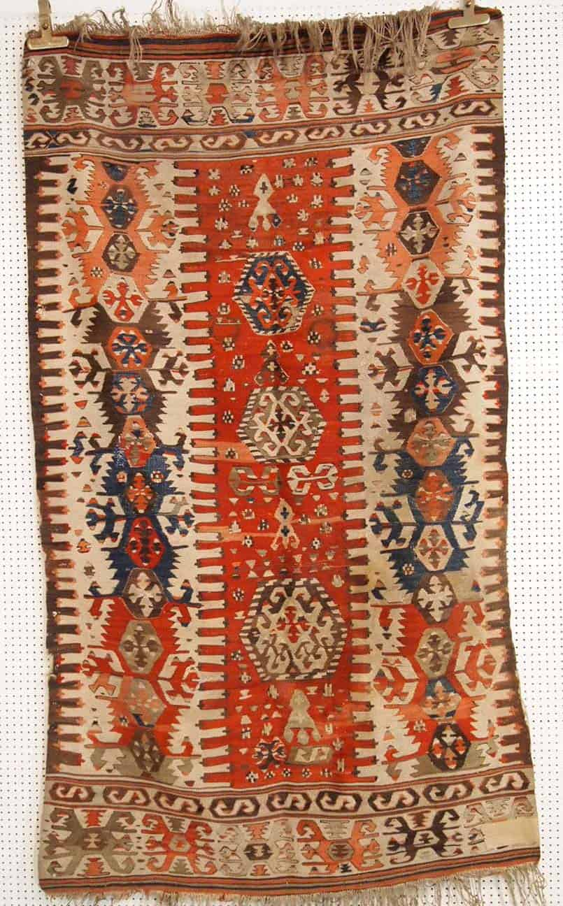 Anatolian kilim 170x110 cm.