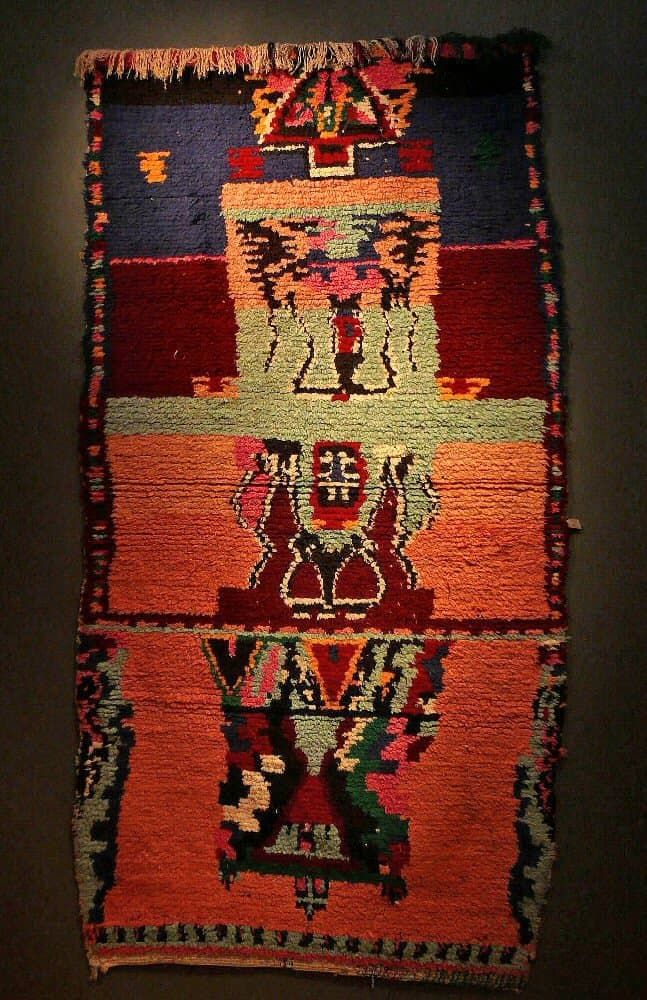 Special Exhibition Of Moroccan Rag Rugs At Sf Tribal Jozan