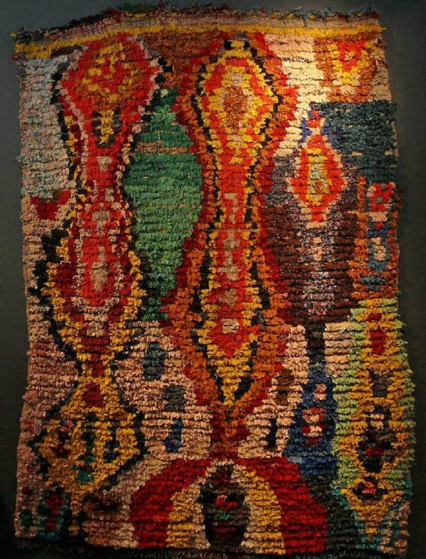 L1170617 600x787 - Special exhibition of Moroccan rag rugs at SF Tribal