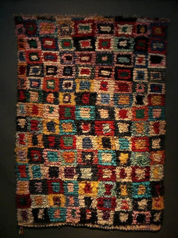 L1170623 600x800 - Special exhibition of Moroccan rag rugs at SF Tribal