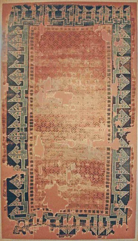 SELJUK CARPET FRAGMENT KONYA, CENTRAL ANATOLIA, 13TH CENTURY