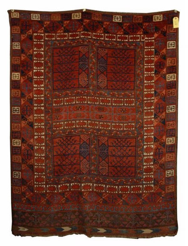 Lot 1038. ERSARI ENSI, Afghanistan; 4 feet 4 inches x 3 feet 4 inches Estimate $1,500-2,500