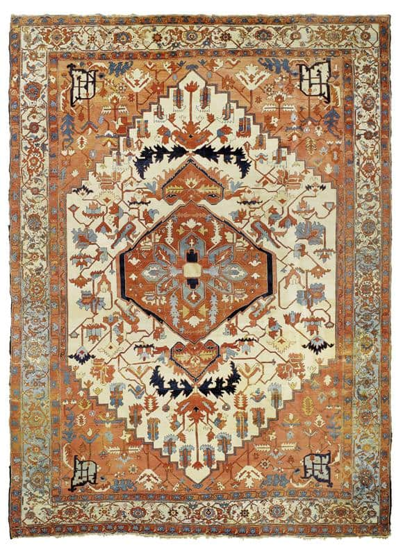 1443 - More Serapi rugs II