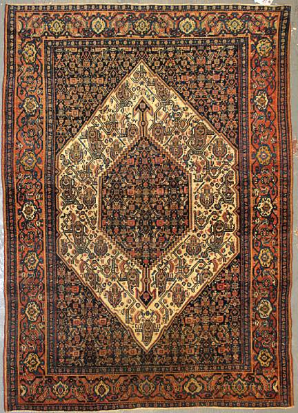 Lot 8311. A Senneh rug size approximately 4ft. 4in. x 6ft. 4in. Estimate: US$1,400 – 1,600