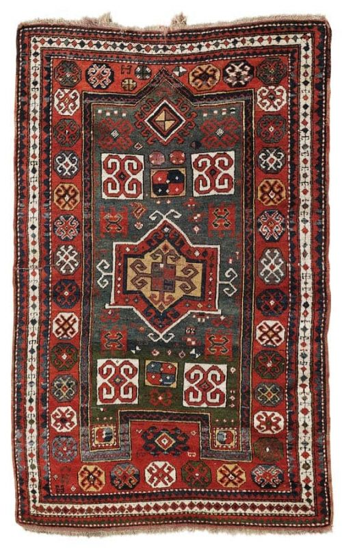 Lot 140, a Fachralo, South-Western Caucasus 166 x 104 cm, late 19th century. Estimate 1.000 – 1.500 EUR