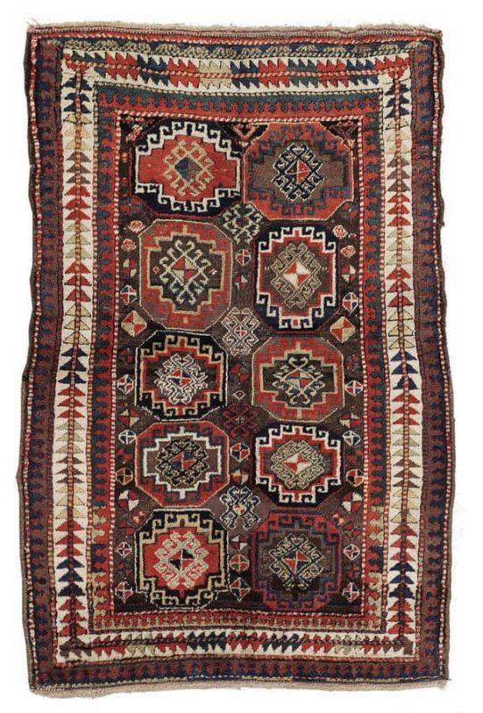 Lot 42, a Zakatala, Central Caucasus, 198 x 130 cm, circa1900. Estimate 2.400 – 3.000 EUR