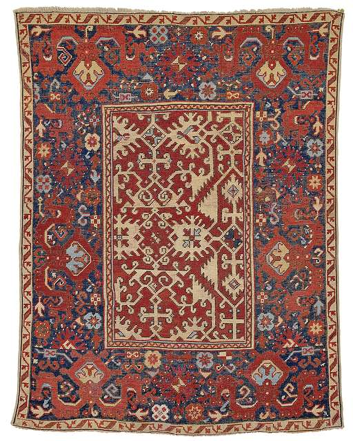 "Ushak ""Lotto rug"""