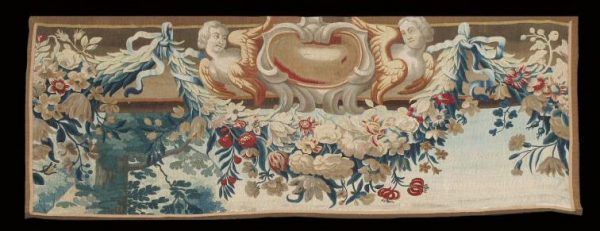 Tapestry fragment, Beauvais Mid 18th century. Exhibitor Gallery Arabesque
