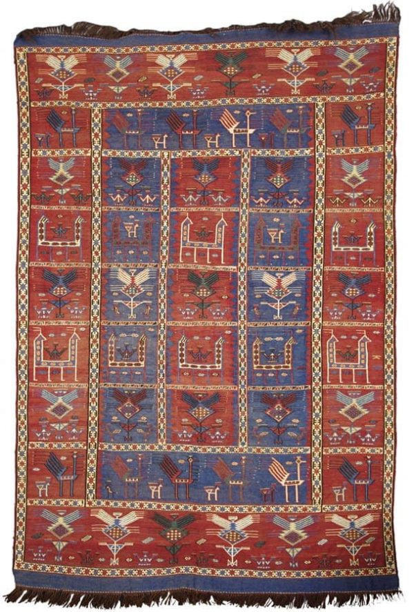 Verneh, Caucasus. (Rug fans from northern Germany)