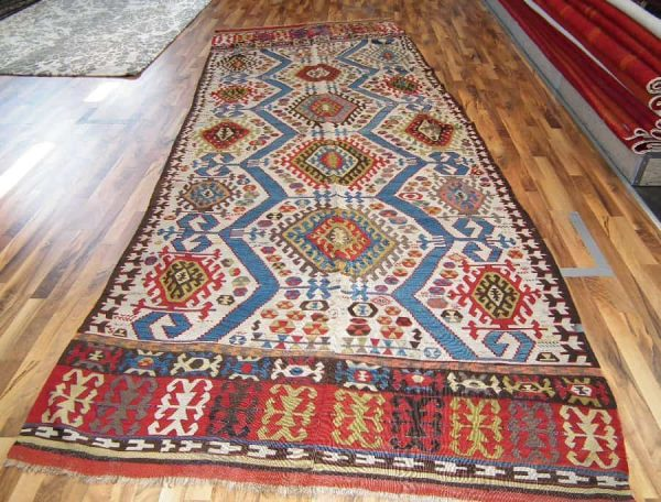 Konya kilim mid 19th century (Langauer Textile Art  Vienna's antique rug dealers)