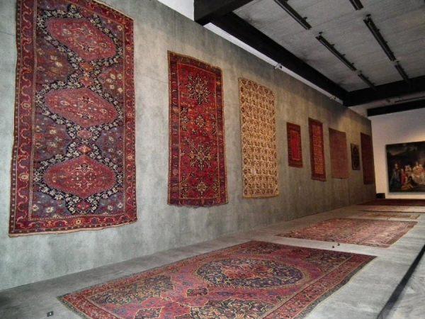 MAK Carpet exhibition hall