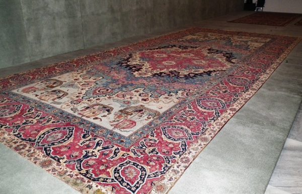 """Portuguese"" carpet, Northeast Persia, Khorassan, early 17th century"