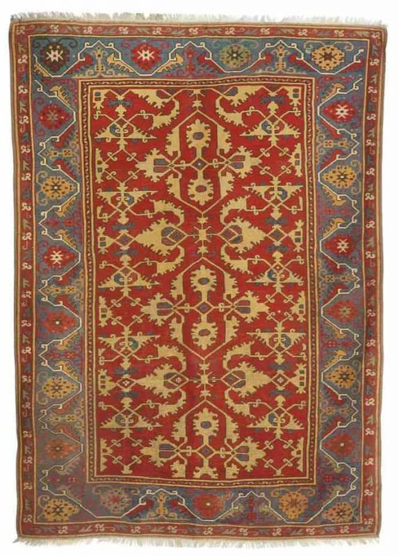 A 'LOTTO' RUG PROBABLY USHAK, WEST ANATOLIA, LATE 16TH CENTURY