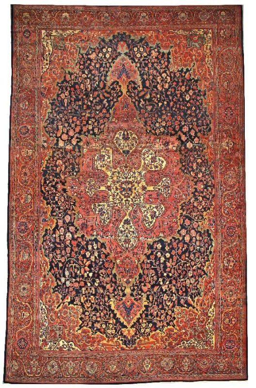 3147 528x800 - Bonhams Fine Oriental Rugs & Carpets