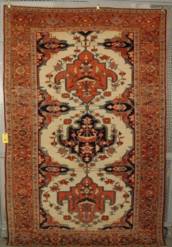 701 557x800 - Grogan September auction including rugs
