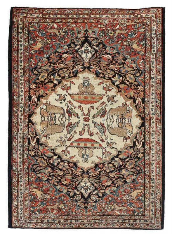 U176 589x800 - Dorotheum Oriental Carpets, Textiles and Tapestries
