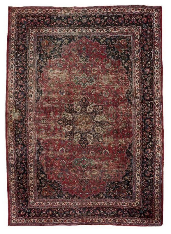 Bonhams 7 November 2012: Lot 175, a Meshed carpet 525cm x 365cm (17'3″ x 12′). Estimate: £2,500 – 3,500
