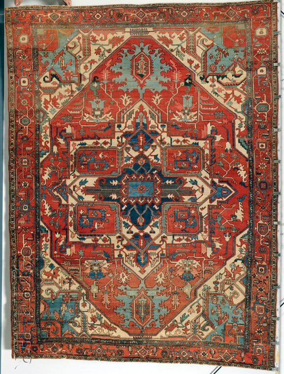 U42 - More Serapi rugs II