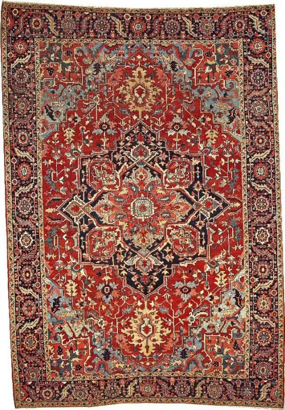 1131 556x800 - More Serapi rugs II