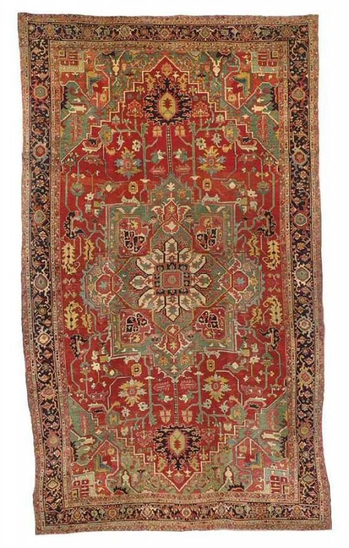 243 a heriz carpet northwest persia circa 1900 510x800 - Christies auction including oriental rugs & carpets