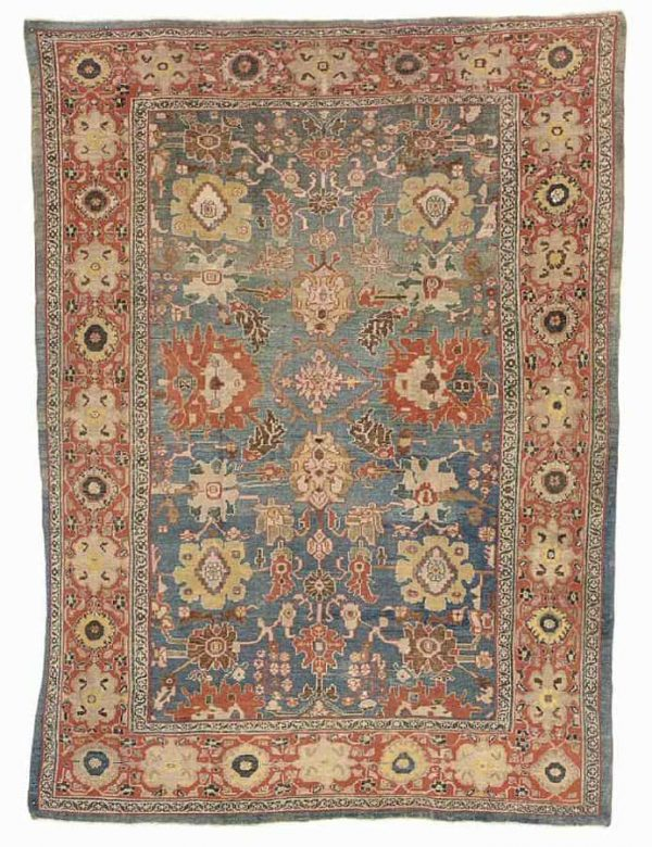 245 a sultanabad carpet west persia late 19th century 600x780 - Christies auction including oriental rugs & carpets