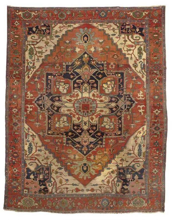 251 a heriz carpet northwest persia late 19th century 600x770 - Christies auction including oriental rugs & carpets
