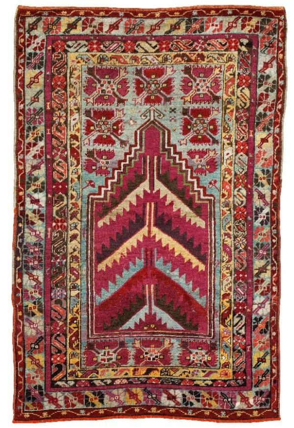 ANTIQUE KIRSEHIR/MUCUR. 162,5 x 107,5 cm. (Bukowskis 4 December 2012)