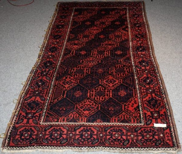 Balouch rug 219×113 cm. (Rieber Auction November 2012)