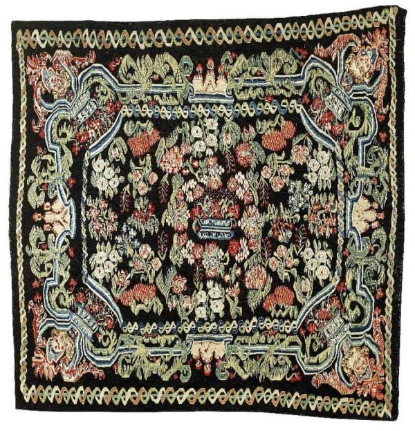 Lot 53, a first half 18th century table cloth, Småland, Sweden