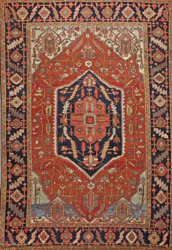 3073 550x800 - More Serapi rugs II