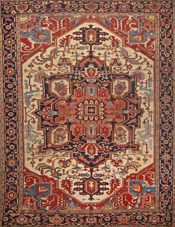 3083 600x778 - More Serapi rugs II