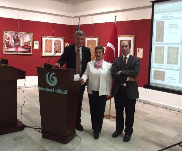 The lecturers at the Symphosium: Stefano Ionescu, Dr. Suzan Bayraktaroglu and Levent Boz