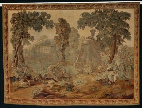 Aubusson tapestry 600x459 - Next Bruun Rasmussen auction including carpets