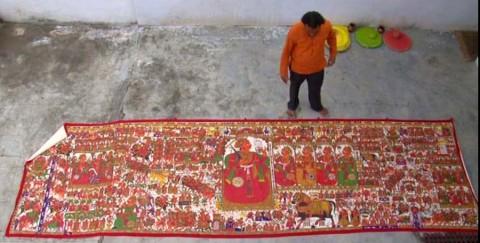 a 480x243 - Mural textiles of Rajasthan
