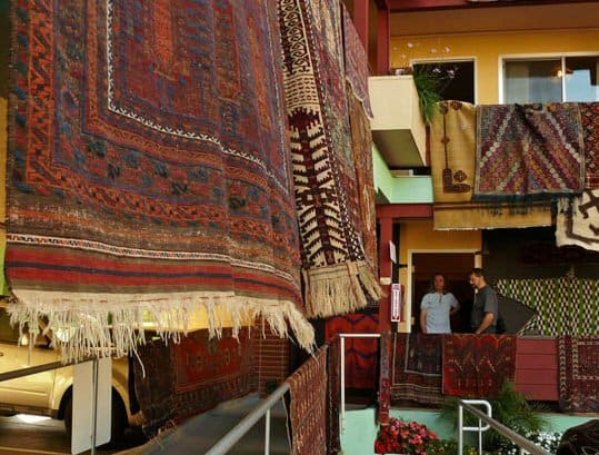 ART2011 - Coming antique rug and textile fairs