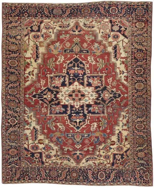1123 600x733 - More Serapi rugs II