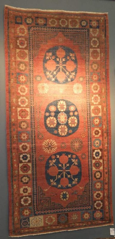 Khotan carpet. Exhibitor Adil Besim