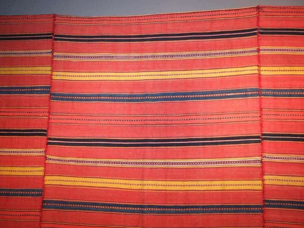 Finely woven kilim from the Mazandaran area. Exhibitor Werner Weber, Zurich
