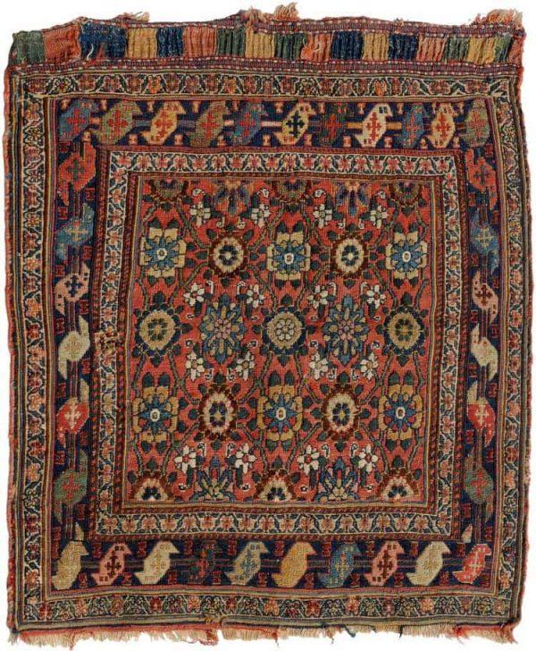Lot 505. Shahsavan-Sumakh circa 1900. Size 66×70 cm. Estimate EUR 670 – 830